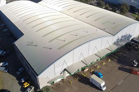glasswells Storage aerial view
