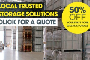 50% off the First 4 Weeks Storage